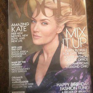 Vogue Other - 3 Unopened Vintage Vogue Magazines (2013)